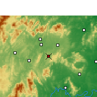 Nearby Forecast Locations - Dongkou - Carta
