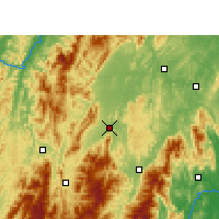 Nearby Forecast Locations - Wugang - Carta