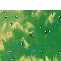 Nearby Forecast Locations - Qidong - Carta