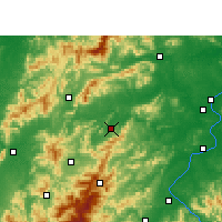 Nearby Forecast Locations - Yongxin - Carta