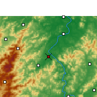 Nearby Forecast Locations - Wan'an - Carta