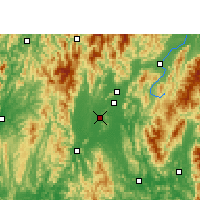 Nearby Forecast Locations - Lingui - Carta