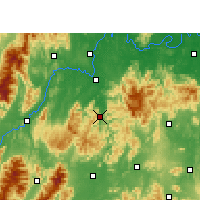 Nearby Forecast Locations - Shuangpai - Carta