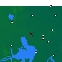Nearby Forecast Locations - Siyang - Carta