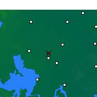 Nearby Forecast Locations - Huaiyin Xian - Carta