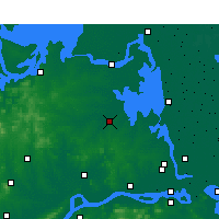 Nearby Forecast Locations - Tianchang - Carta