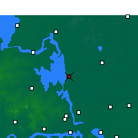 Nearby Forecast Locations - Gaoyou - Carta