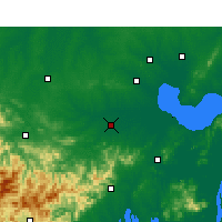 Nearby Forecast Locations - Shucheng - Carta