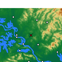 Nearby Forecast Locations - Xishui - Carta
