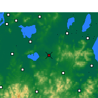 Nearby Forecast Locations - Langxi - Carta