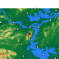 Nearby Forecast Locations - Lushan - Carta