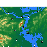 Nearby Forecast Locations - Xingzi - Carta