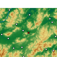 Nearby Forecast Locations - Dongyang - Carta