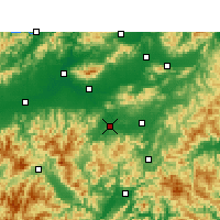 Nearby Forecast Locations - Wuyi/ZHJ - Carta