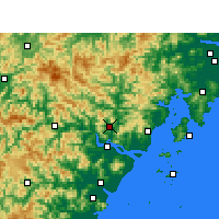 Nearby Forecast Locations - Yongjia - Carta