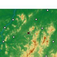 Nearby Forecast Locations - Le'an - Carta