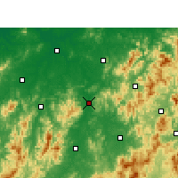 Nearby Forecast Locations - Nancheng - Carta