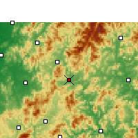 Nearby Forecast Locations - Shaowu - Carta