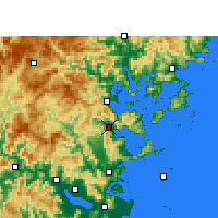 Nearby Forecast Locations - Luoyuan - Carta