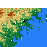 Nearby Forecast Locations - Xiuyugang - Carta