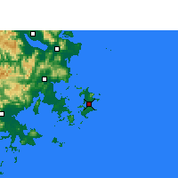 Nearby Forecast Locations - Pingtan - Carta