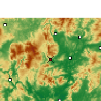 Nearby Forecast Locations - Ruyuan - Carta