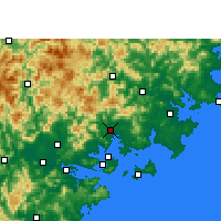 Nearby Forecast Locations - Tong'an - Carta