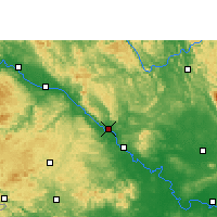 Nearby Forecast Locations - Pingguo - Carta