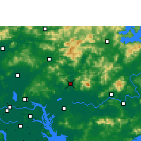 Nearby Forecast Locations - Zengcheng - Carta