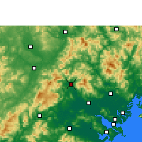 Nearby Forecast Locations - Fengshun - Carta