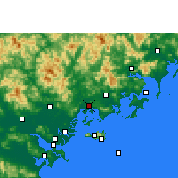 Nearby Forecast Locations - Raoping - Carta
