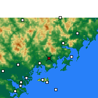 Nearby Forecast Locations - Zhao'an - Carta