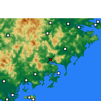 Nearby Forecast Locations - Yunxiao - Carta