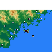Nearby Forecast Locations - Nan'ao - Carta