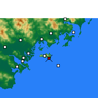 Nearby Forecast Locations - Yunao - Carta