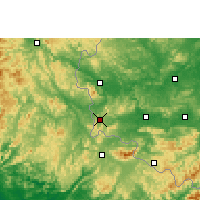 Nearby Forecast Locations - Pingxiang - Carta