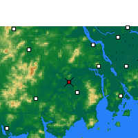 Nearby Forecast Locations - Kaiping - Carta
