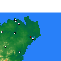 Nearby Forecast Locations - Wenchang - Carta