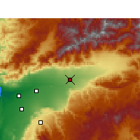 Nearby Forecast Locations - Taroudant - Carta