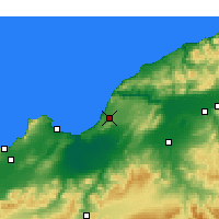 Nearby Forecast Locations - Mostaganem - Carta