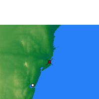 Nearby Forecast Locations - Malindi - Carta