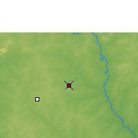 Nearby Forecast Locations - Ouagadougou - Carta