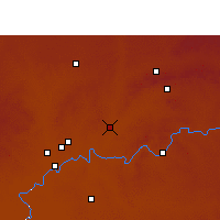 Nearby Forecast Locations - Potchefstroom - Carta
