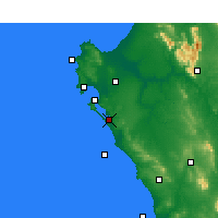 Nearby Forecast Locations - Geelbek - Carta