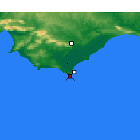 Nearby Forecast Locations - Capo Agulhas - Carta