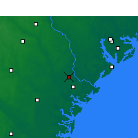 Nearby Forecast Locations - Savannah - Carta
