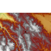 Nearby Forecast Locations - Chachapoyas - Carta