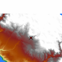 Nearby Forecast Locations - Arequipa - Carta