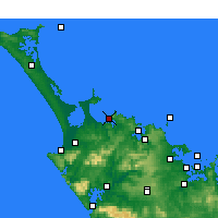 Nearby Forecast Locations - Taipa-Mangonui - Carta