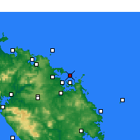 Nearby Forecast Locations - Bay of Islands - Carta